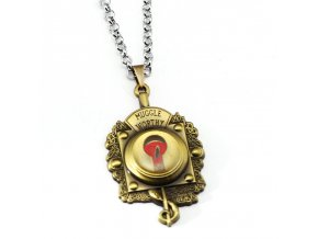 Fantastic Beasts and Where to Find Them Necklace New MUGGLE WORTHY Letter Metal Pendant Necklace Frienship (1)