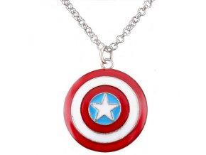 Náhrdelník Captain America