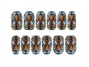 Nálepky na nechty Tiger