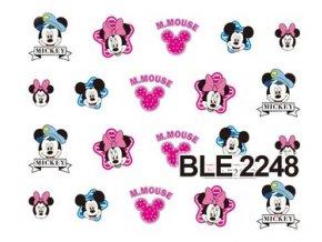 Nálepky na nechty  Mickey 1