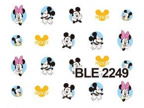Nálepky na nechty  Mickey 2
