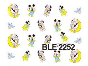Nálepky na nechty  Mickey 6