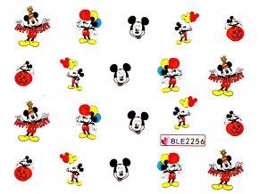 Nálepky na nechty  Mickey 7