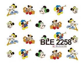 Nálepky na nechty  Mickey 9