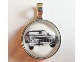 Náhrdelník Supernatural- Lovci duchov : Chevrolet Impala 1967  2