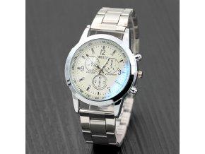 Modiya pánske náramkové hodinky biele
