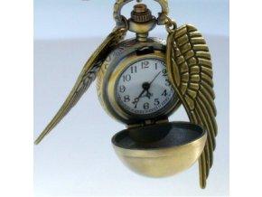 Vreckové hodinky - zlatá strela