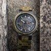 Bobo Bird - Náramkové hodinky drevené  BBU61