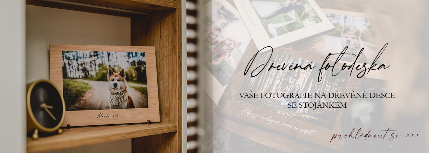 Dřevěná fotodeska