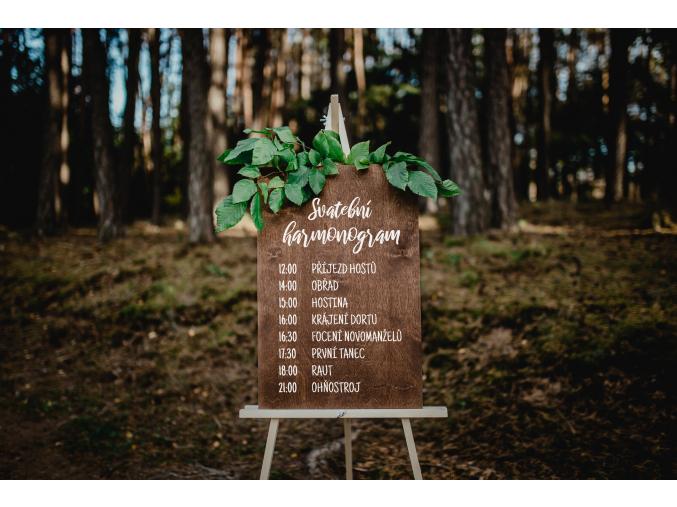 Svatební harmonogram  Co Vás na svatbě čeká a nemine. Přehledné harmonogramy jsou skvělým doplňkem každé svatby.