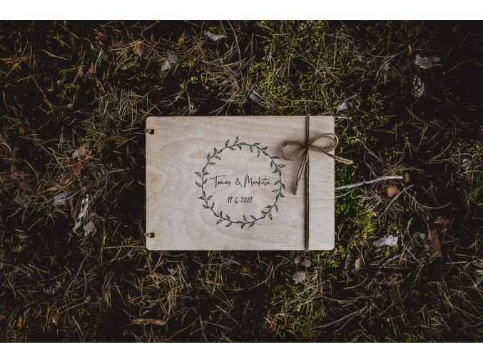 Svatební fotoalbum #boho-circle