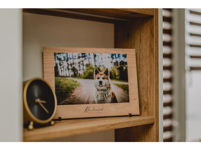 Dřevěná fotodeska  Pro Vaše srdcovky ♥