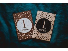 Milníkové karty 1. měsíc - 1. rok