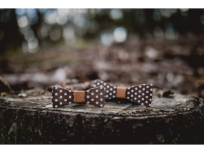 Brown dots SET - Klasik + MINI
