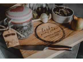 Kuchyňské dubové prkénko #laska  Stylové prkénko do každé kuchyně.