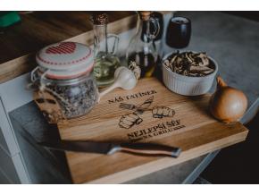 Kuchyňské dubové prkénko #sefnagrilu  Stylové prkénko do každé kuchyně.