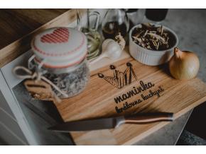 Kuchyňské dubové prkénko #kralovnakuchyne  Stylové prkénko do každé kuchyně.