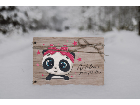 Dětské fotoalbum #panda