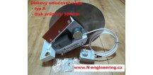 Diskový odlučovač oleje a ropných látek z vody a emulze D300 typ A