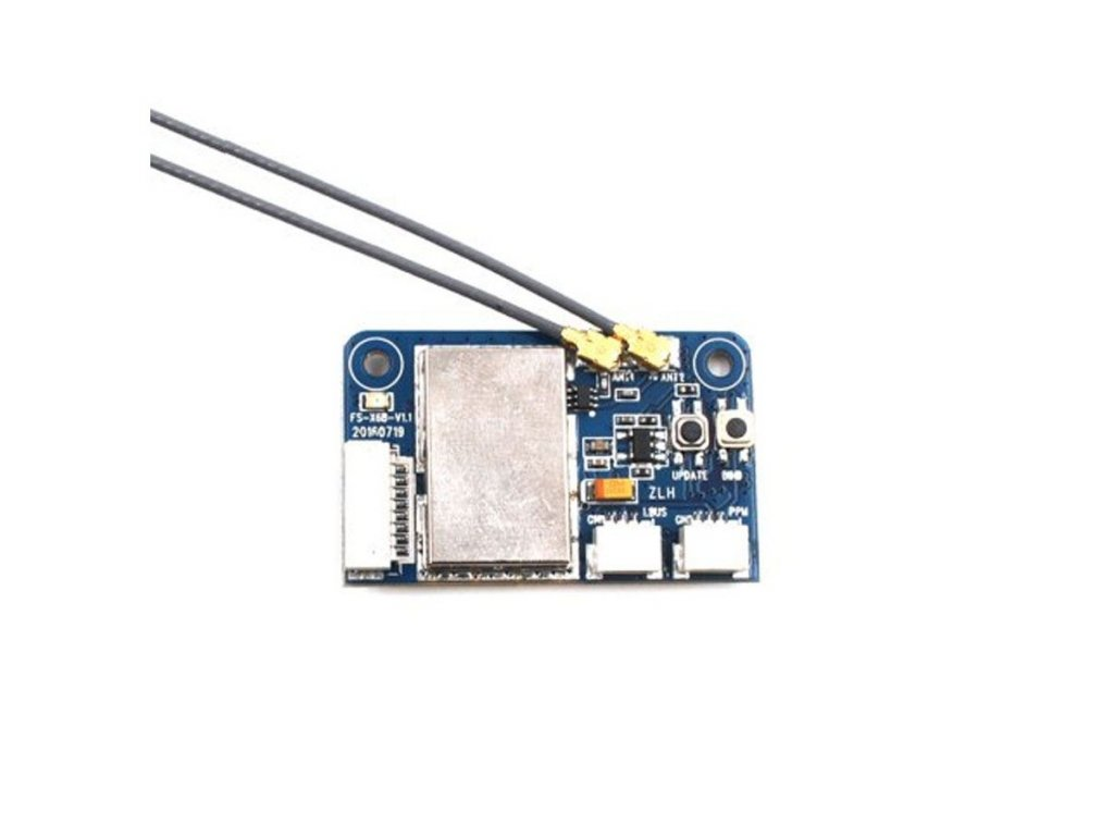 0004482 flysky x6b 24g 6ch i bus ppm pwm receiver