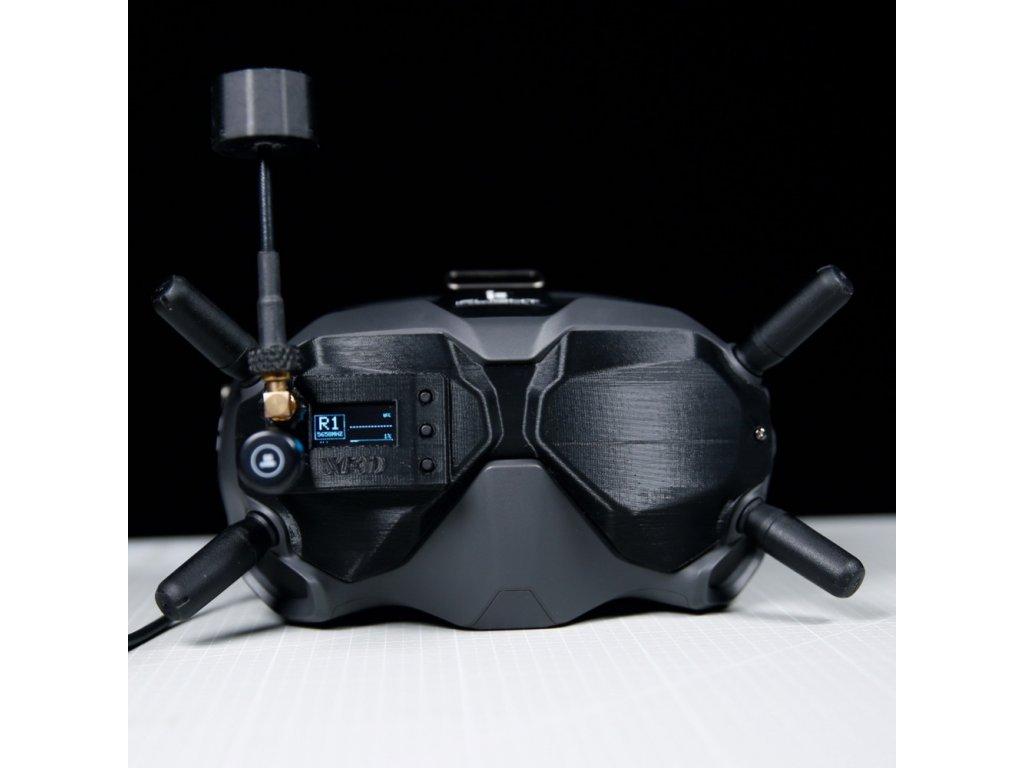 3d printed analog conversion kit for dji fpv goggles01 1
