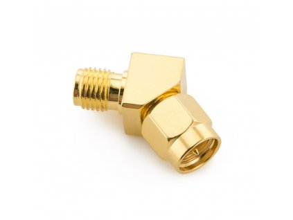 45 degree male to female sma connector