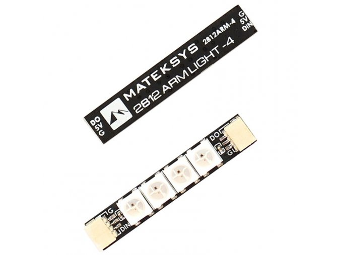 matek 2812 arm light 4 led fpv rgb led