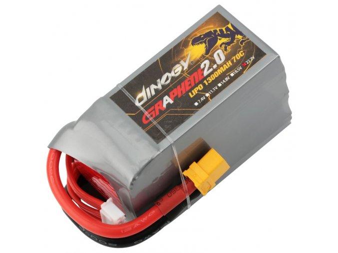 dinogy graphene 6s 1300mah 70c lipo battery