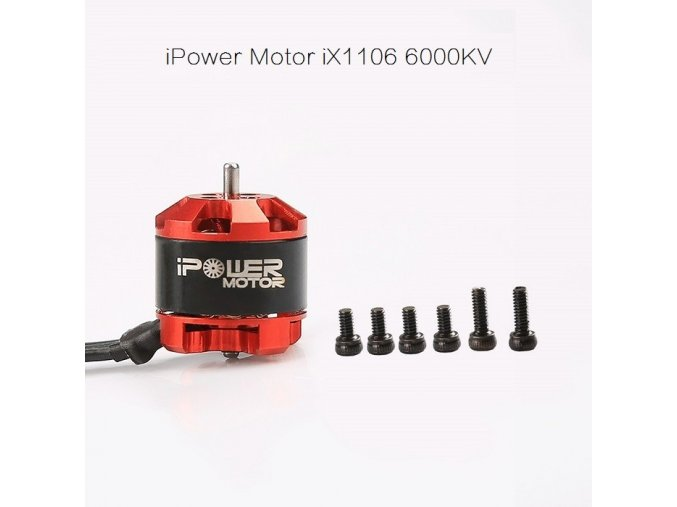 ipower motor ix1106 6000kv fpv racing motor 1 2