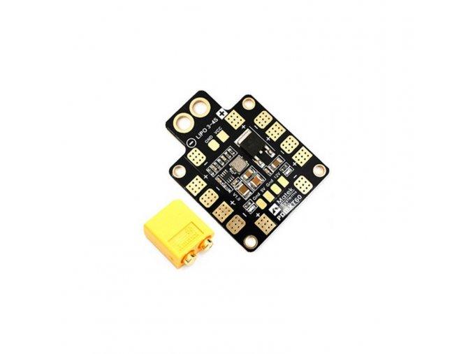 matek pdb mini hub xt60