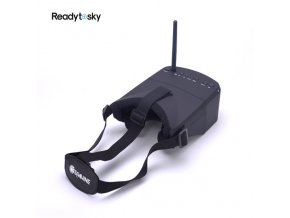 JMT Mini FPV Goggles 3 inch Double Antenna 5 8G 40CH Built in 3 7V 1200mAh.jpg 640x640