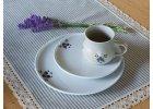 Porcelánové talíře Červenka a Modřenka