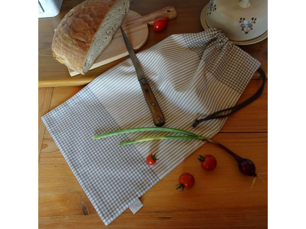 pytlik na chleba sedy kanafas DSC05081