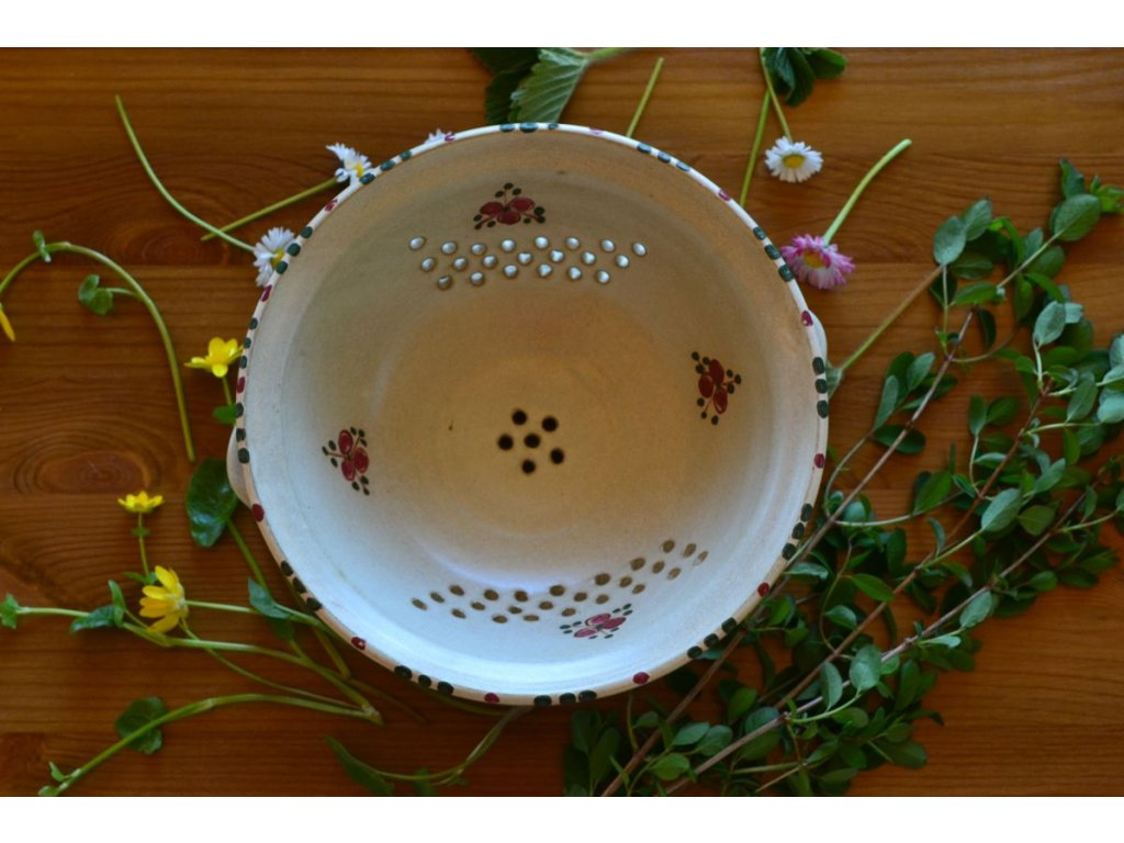 cednik misa keramika Cervenka