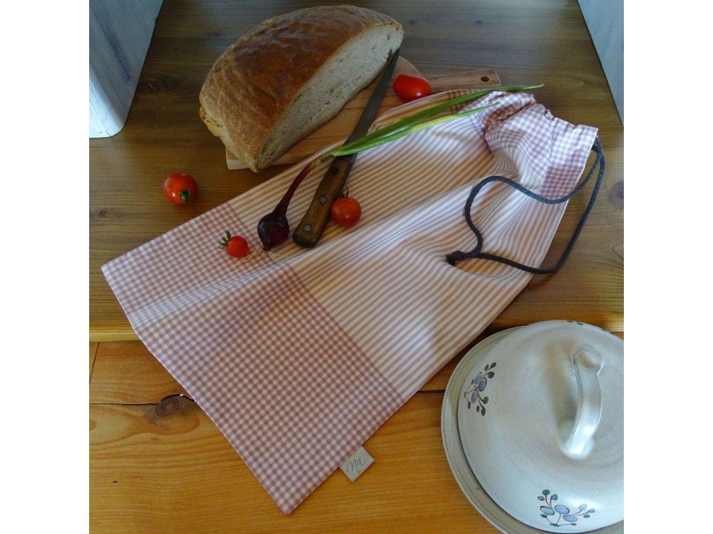 pytlik na chleba ruzovy kanafas DSC05074
