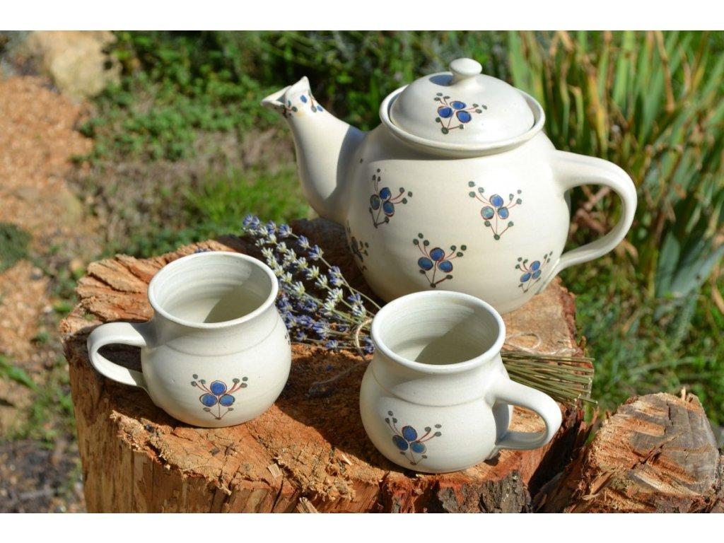 hrnky buclate keramika Modrenka 04