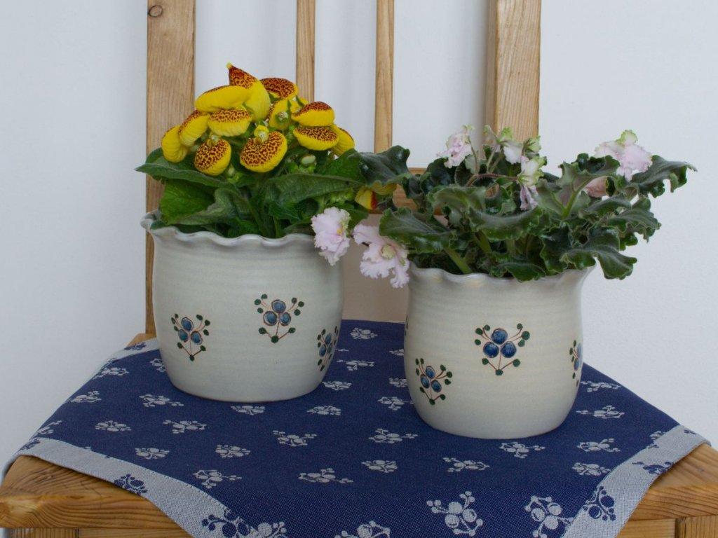 keramicke kvetniky Modrenka DSC 0662