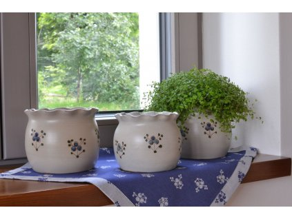 obaly na kvetinace keramika Modrenka DSC 1306