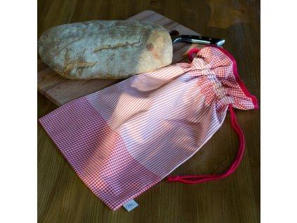 pytlik na chleb pecivo cerveny kanafas DSC 0027