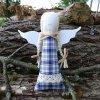 andelka dekorace kanafas modry DSC04983