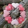 srdickovy venec cerveny kanafas dekorace DSC04915