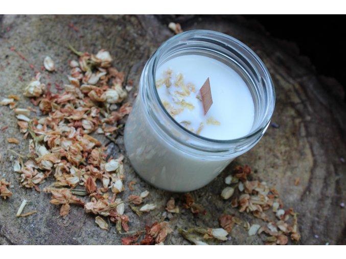 Jasmín a bergamot - dřevěný knot
