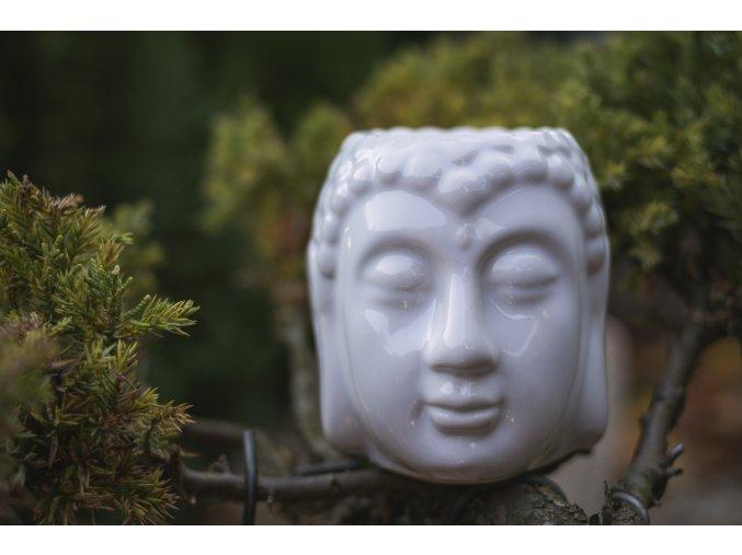 Aromalampa Hlava Buddhy