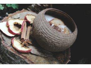 Pečené jablíčko v kokosové misce