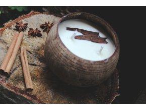 Perníčková v kokosové misce