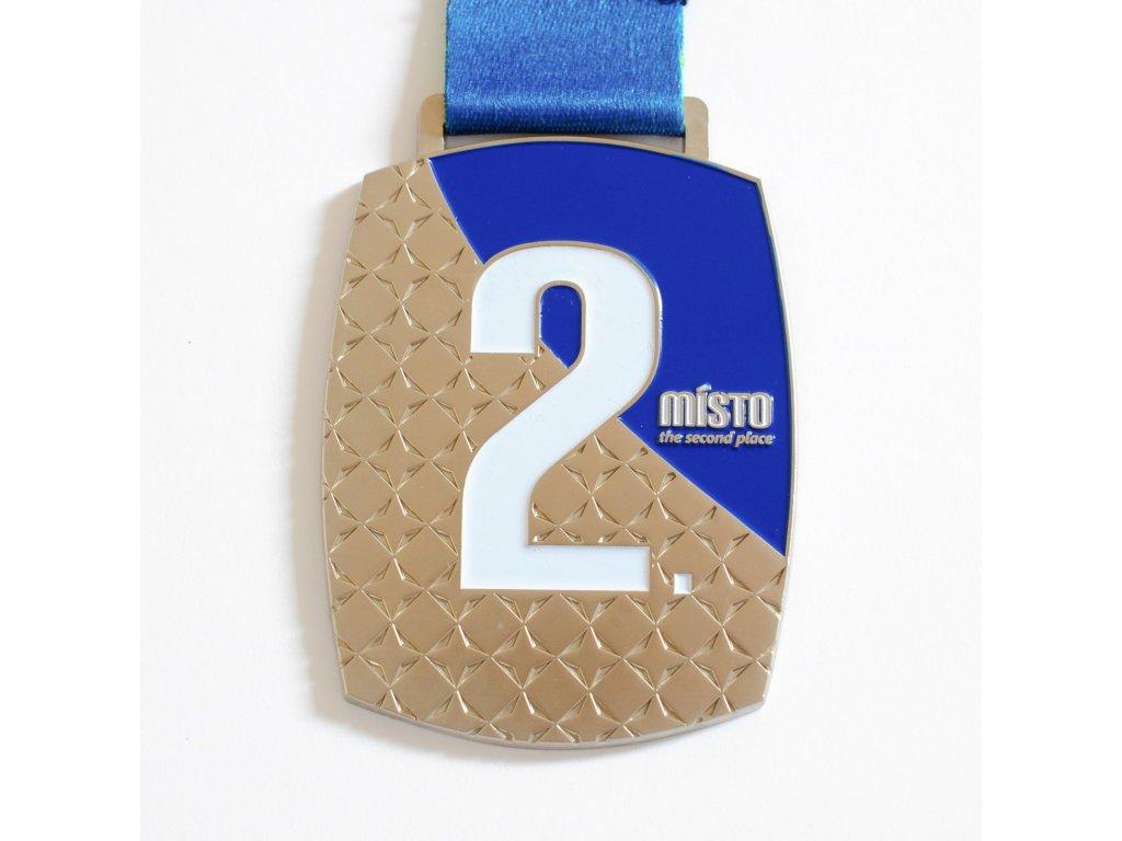 medaile stříbrná champions 2020 1