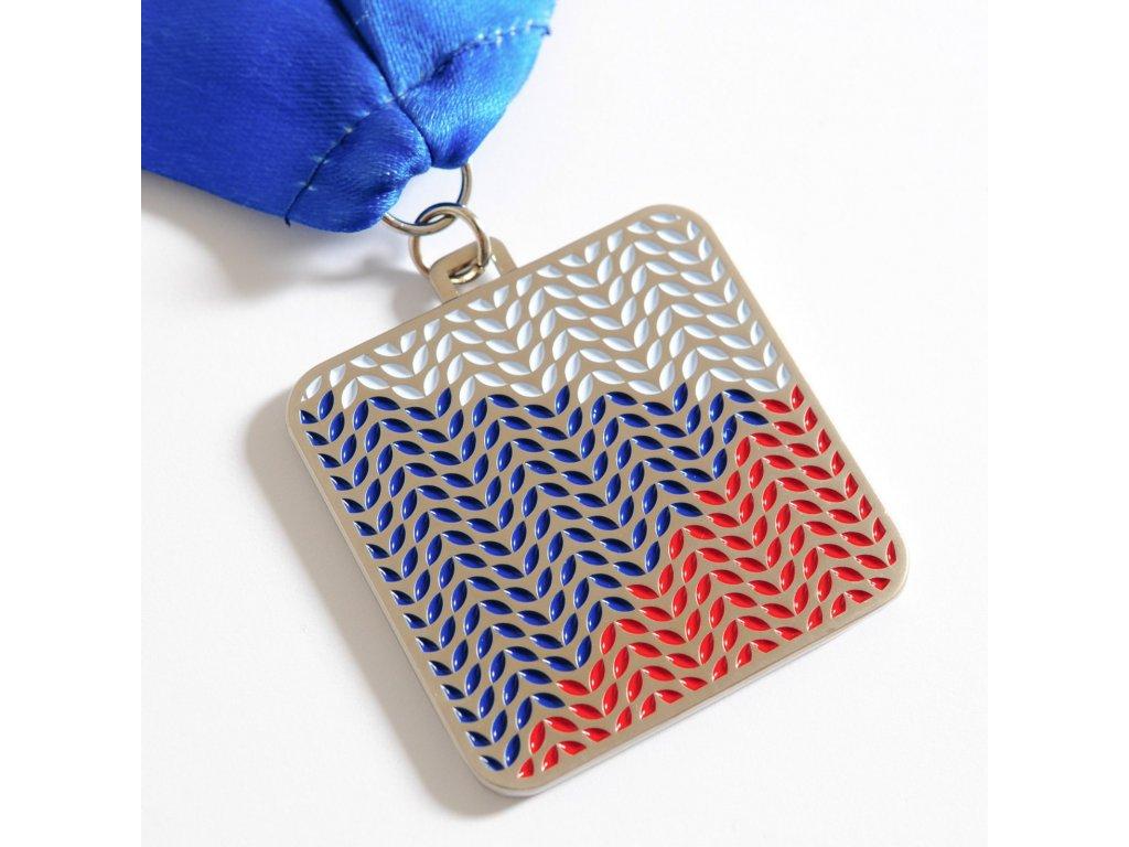 medaile stříbrná flying flag 2020 1