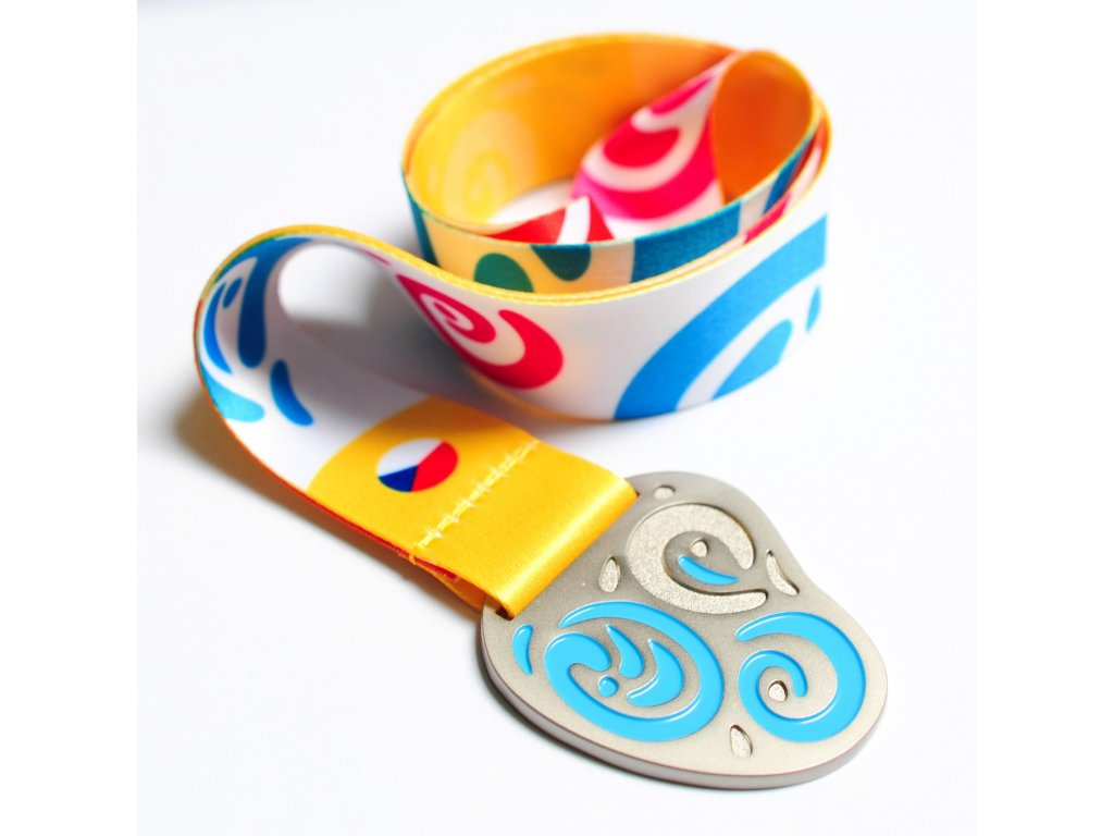 medaile pro děti smajlík stříbrná1