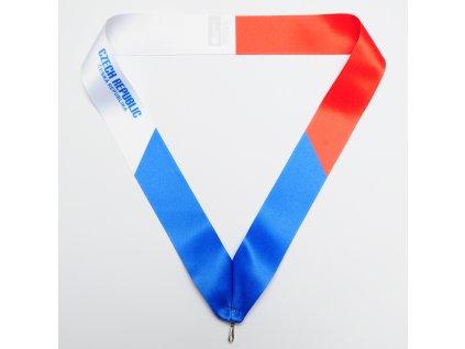 stuha na medaili vlajka CZE 01