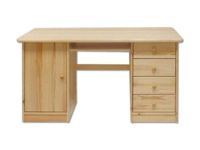 Dřevěný psací stůl MASIV 115 z borovice